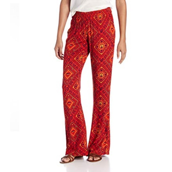 NEW LADIES WOMENS LINEN JOGGERS SYTLE TROUSERS  SUMMER  ONE SIZE 10-16 ORANGE